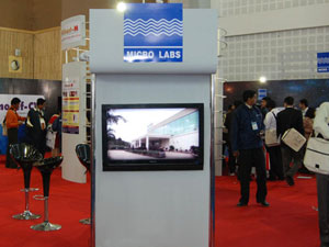 MIcro Labs Limited stalls management companies bangalore, chennai